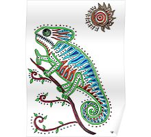 The Chameleon Magician Poster
