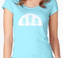 Fir Tree Tee Women's Fitted Scoop T-Shirt