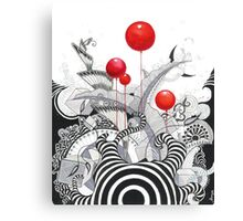 Has Anybody Seen My Zebra? Canvas Print