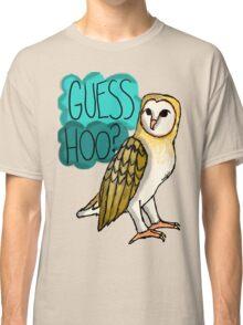 Guess Hoo? Classic T-Shirt