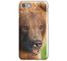 Blond Grizzly Bear iPhone Case/Skin