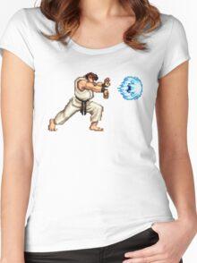 Ryo Hadouken Women's Fitted Scoop T-Shirt