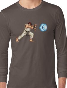 Ryo Hadouken Long Sleeve T-Shirt