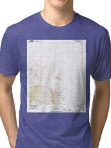 USGS TOPO Map Arizona AZ Turquoise Mountain 313862 1996 24000 Tri-blend T-Shirt