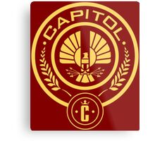 The Hunger Games Capitol Seal Metal Print