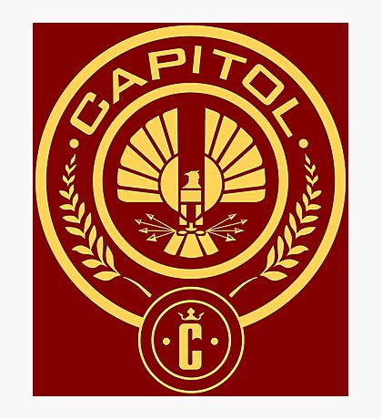 The Hunger Games Capitol Seal Photographic Print