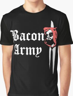 Bacon Army Graphic T-Shirt