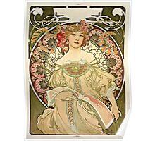 Alphonse Mucha - Champagne 1897  Poster
