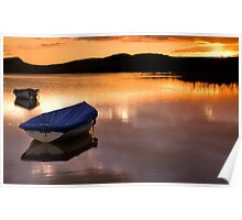 Crag Lough on Hadrians Wall Poster