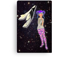 Will Somebody Be My Starship Trooper Canvas Print