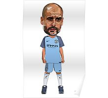 Manager Series - Guardiola Poster