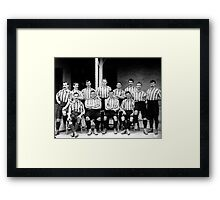 Sheffield United Football Team, 1901 Framed Print