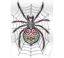 Spider in a Web Poster