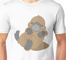 Cute Kawaii Platypus Unisex T-Shirt