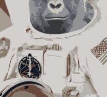 Harambe Astronaut Sticker