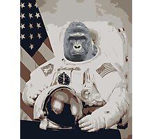Harambe Astronaut Photographic Print