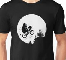 Bigfoot ET funny Unisex T-Shirt