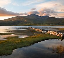 Ben More at Sunset. Isle of Mull. Scotland. by PhotosEcosse