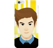 Cole Pendery Illustrated Portrait iPhone Case/Skin