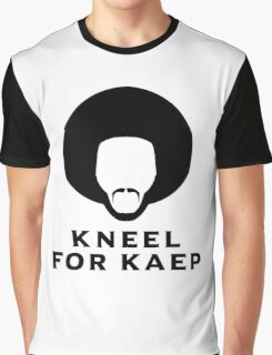Kneel for Kaep Graphic T-Shirt