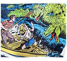 Loch Ness Monster Attack! Poster