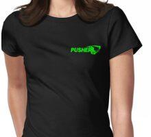 Pusher - Pusher Green Womens Fitted T-Shirt