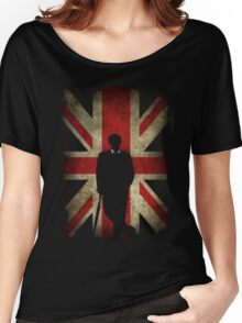 Mycroft Holmes, Union Jack  Women's Relaxed Fit T-Shirt