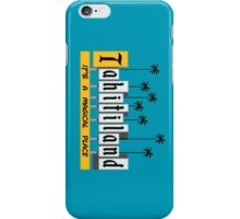 Tahiti-land iPhone Case/Skin