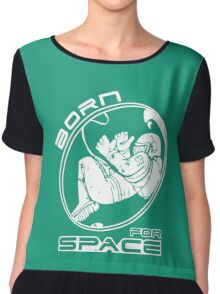 BORN FOR SPACE Chiffon Top