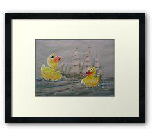 Terror on the High Seas 1 Framed Print