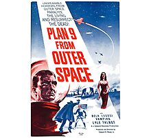 PLAN 9 from Outer Space Photographic Print