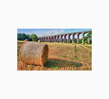 Straw Bales - Balcombe Viaduct - HDR Unisex T-Shirt