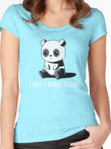 Can't Adult Today Women's Fitted Scoop T-Shirt