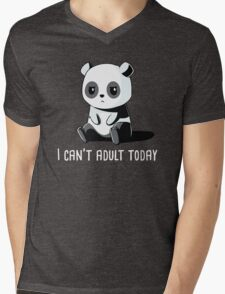 Can't Adult Today Mens V-Neck T-Shirt