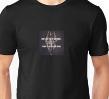 Too Busy Playing Skyrim, No Time For Drama Unisex T-Shirt