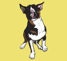 Freddie English Bull Terrier One Piece - Short Sleeve