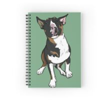 Freddie English Bull Terrier Spiral Notebook