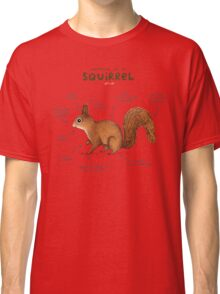 Anatomy of a Squirrel Classic T-Shirt