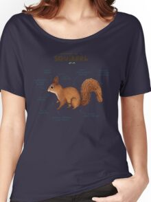 Anatomy of a Squirrel Women's Relaxed Fit T-Shirt