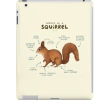 Anatomy of a Squirrel iPad Case/Skin
