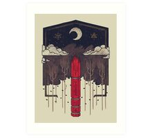The Lost Obelisk Art Print