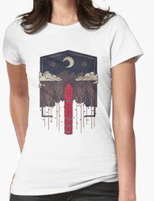 The Lost Obelisk Womens Fitted T-Shirt