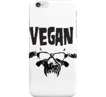 VEGANZIG iPhone Case/Skin