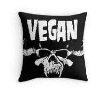 VEGANZIG Throw Pillow