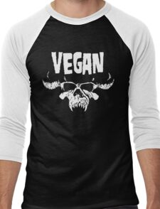 VEGANZIG Men's Baseball ¾ T-Shirt