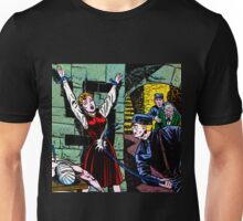 Woman whipped in torture chamber Unisex T-Shirt