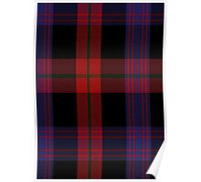 00003 Brown Clan Tartan  Poster