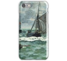 Claude Monet - Entrance To The Port Of Honfleur iPhone Case/Skin