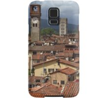 Towers and Roof Tops, Lucca Samsung Galaxy Case/Skin