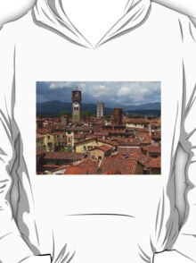 Towers and Roof Tops, Lucca T-Shirt